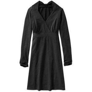 Athleta Black Organic Cotton Dress L